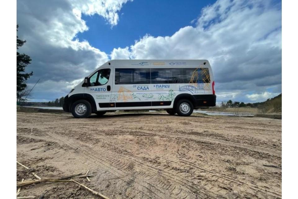 В Смоленске запустили «туристическое такси» в Смоленское Поозерье. Фото: poozerie.ru.