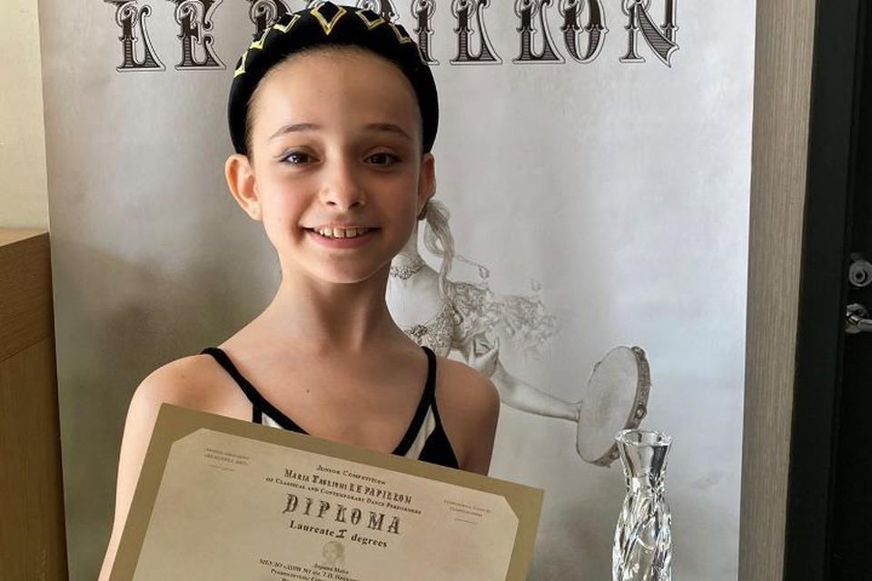 Выступление Майи признали лучшим в возрастной группе 7-9 лет.