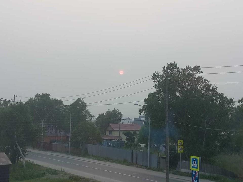 По данным синоптиков, воздух должен стать чище со дня на день