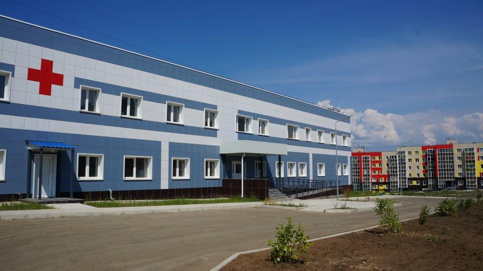 Новая поликлиника в Таежном откроется в этом году. Фото: Борис Ангарский