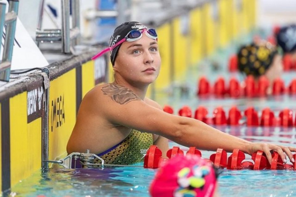 23-летнюю калининградку Анну Егорову называют восходящей звездой мирового плавания.