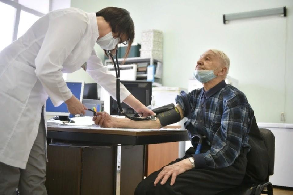 Воспаление легких часто возникает у больных пожилого возраста
