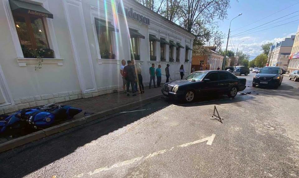 ДТП произошло в ходе парковки