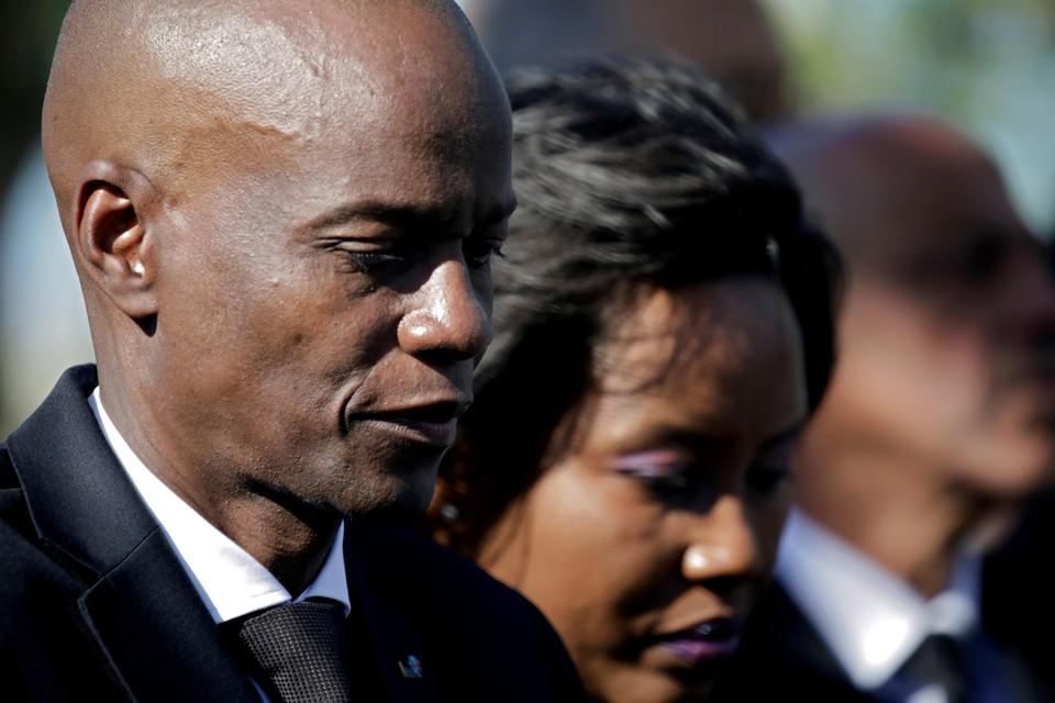 Вдова убитого президента Гаити улетела в Соединенные Штаты
