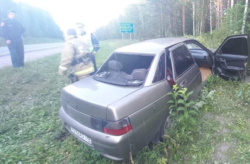 Водителя фуры нашли благодаря записям с камер. Фото: УГИБДД по Свердловской области
