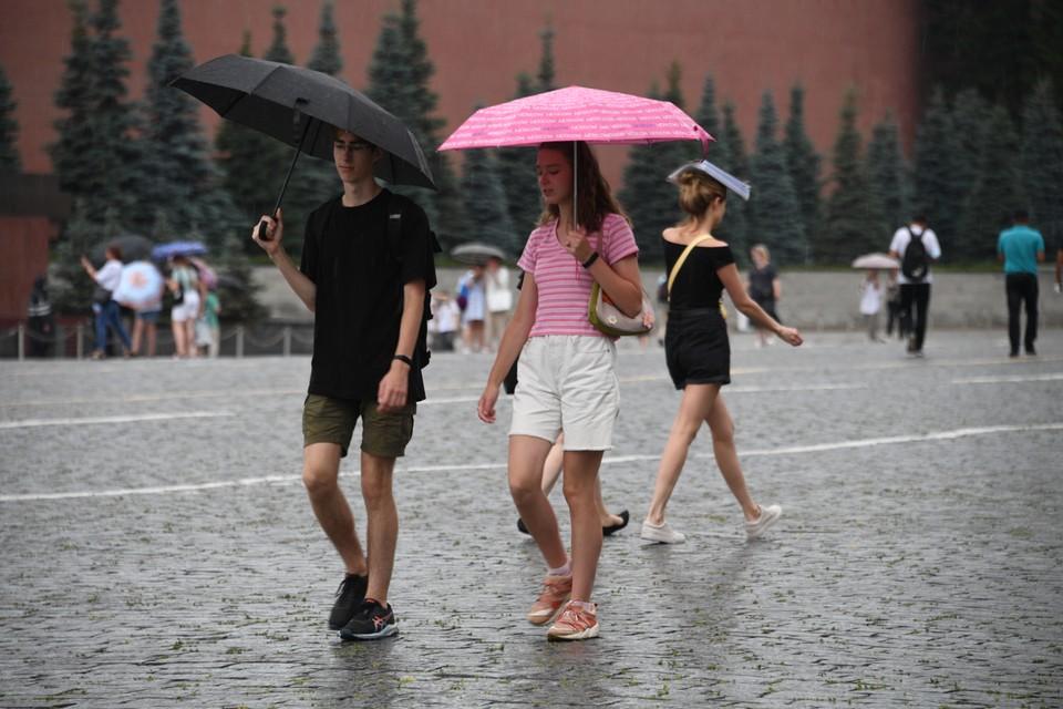 Синоптик предупредил о дожде в Москве 13 августа 2021