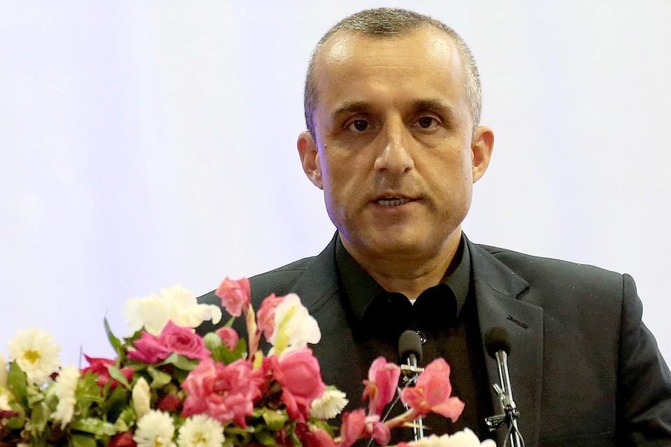 Вице-президент Афганистана Амрулла Салех.