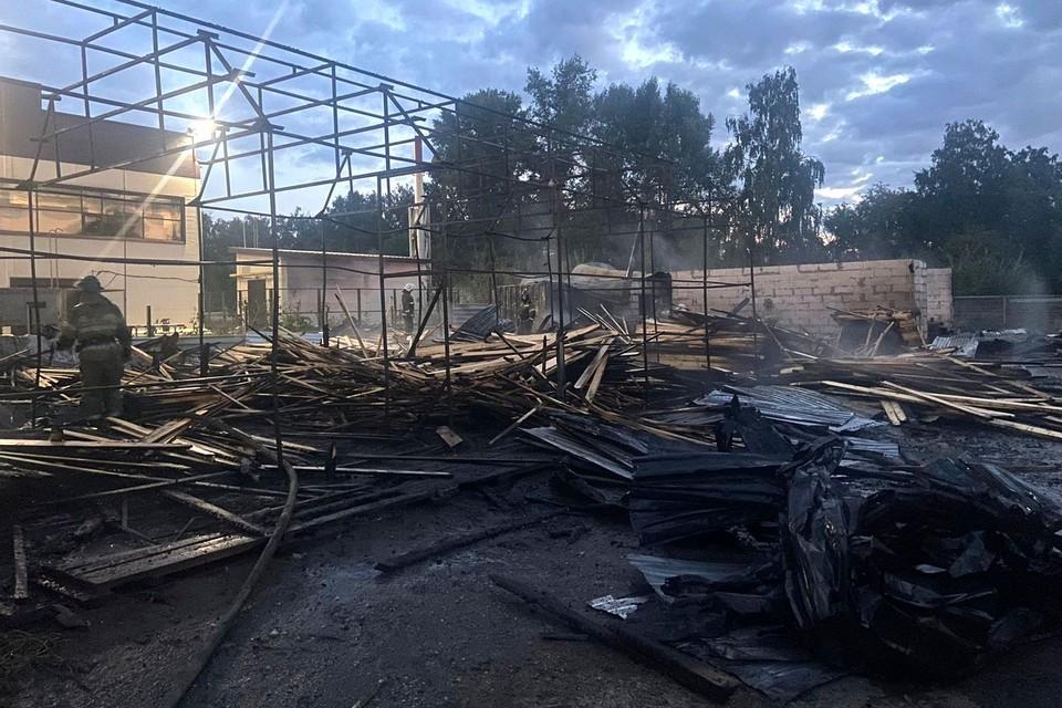 Пожар унес жизнь сибиряка. Фото: ГУ МЧС по Новосибирской области.