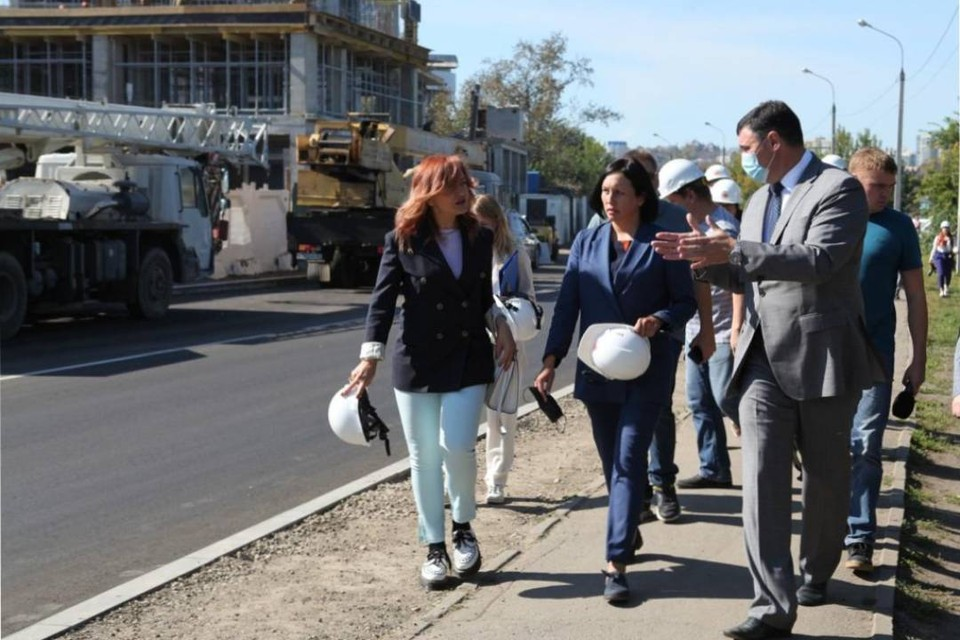 Единую набережную планируют создать в Иркутске. Фото: Пресс-служба администрации Иркутска.