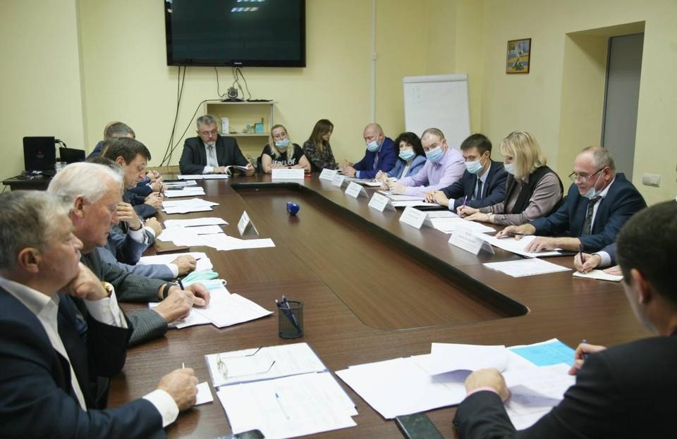 В столице региона обсудили работу «Квадры» в Смоленске. Фото: Андрей Смирнов.