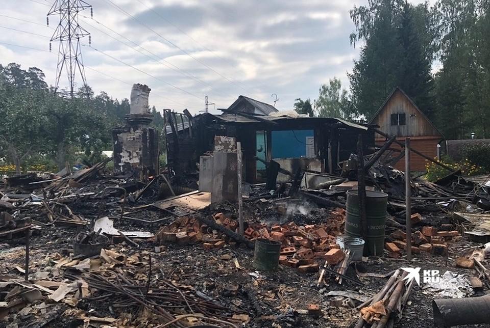 Первый день осени обернулся кошмаром для дачников из СНТ «Энергостроителей» на Сибирском тракте