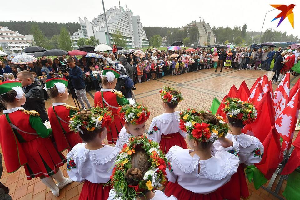 1 сентября в Первомайском районе Минска открылась школа-новостройка.