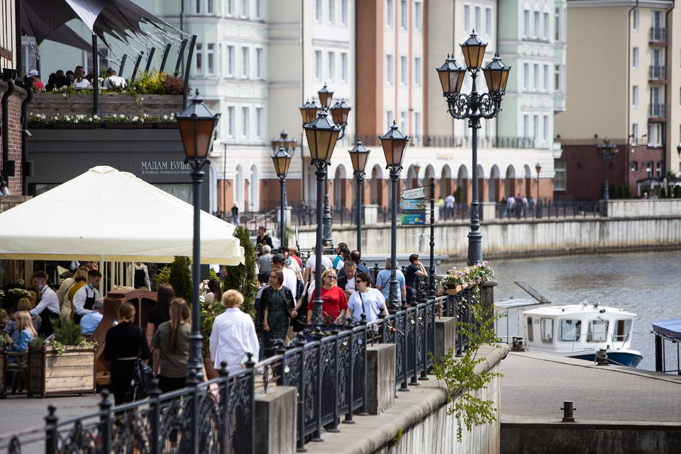 Летом в Калининграде начался туристический бум, который продолжается и сейчас.