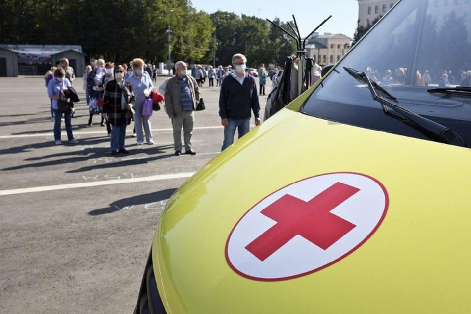 Для кировчан работают мобильные пункты вакцинации от гриппа и коронавируса. Фото: vk.com/kirovreg43