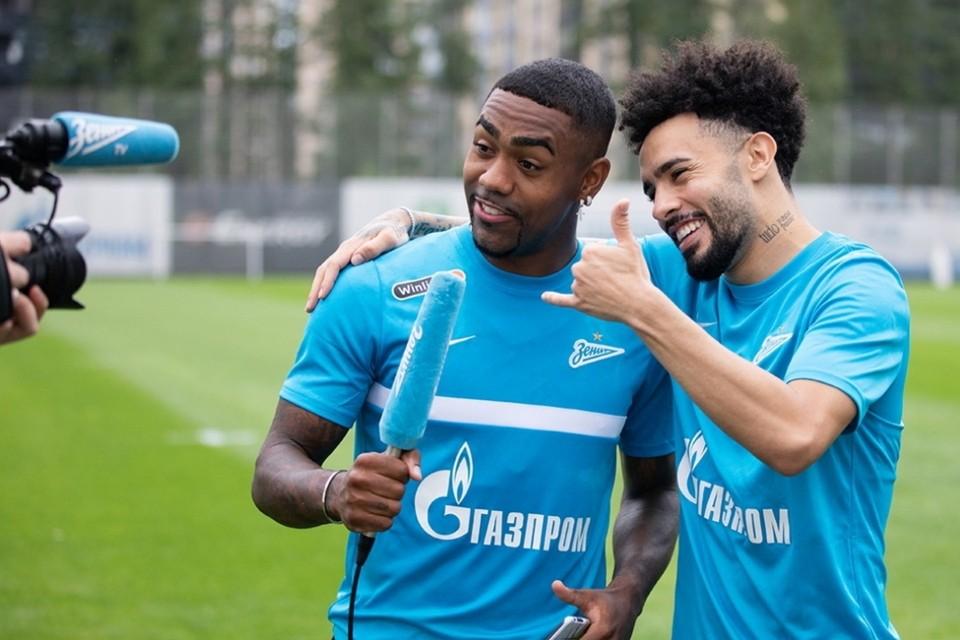 """""""Зенит"""" отозвал из сборной Бразилии Малкома и Клаудиньо."""
