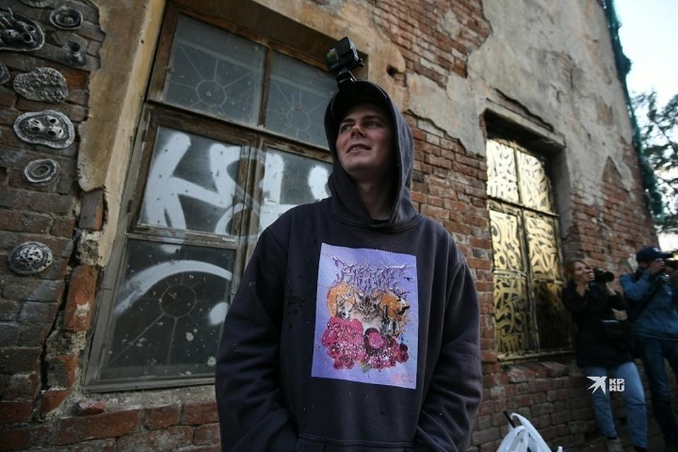 Покрас Лампас приезжал в Екатеринбург на независимый фестиваль уличного искусства «Карт-бланш»