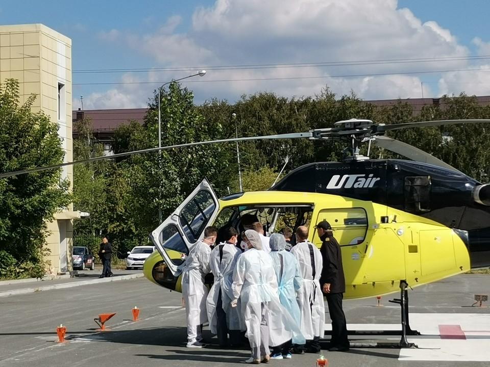 Пациента перевозили в сопровождении медицинской сестры и врача-анестезиолога-реаниматолога