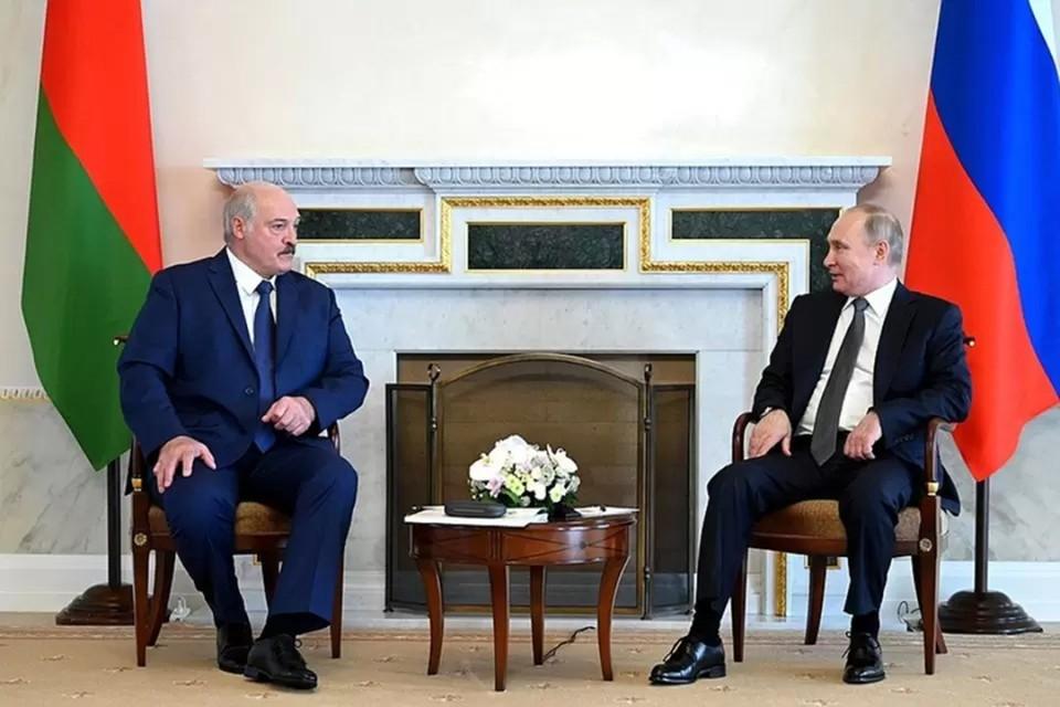 Путин и Лукашенко встретятся 9 сентября в Москве. Фото: пресс-служба Кремля