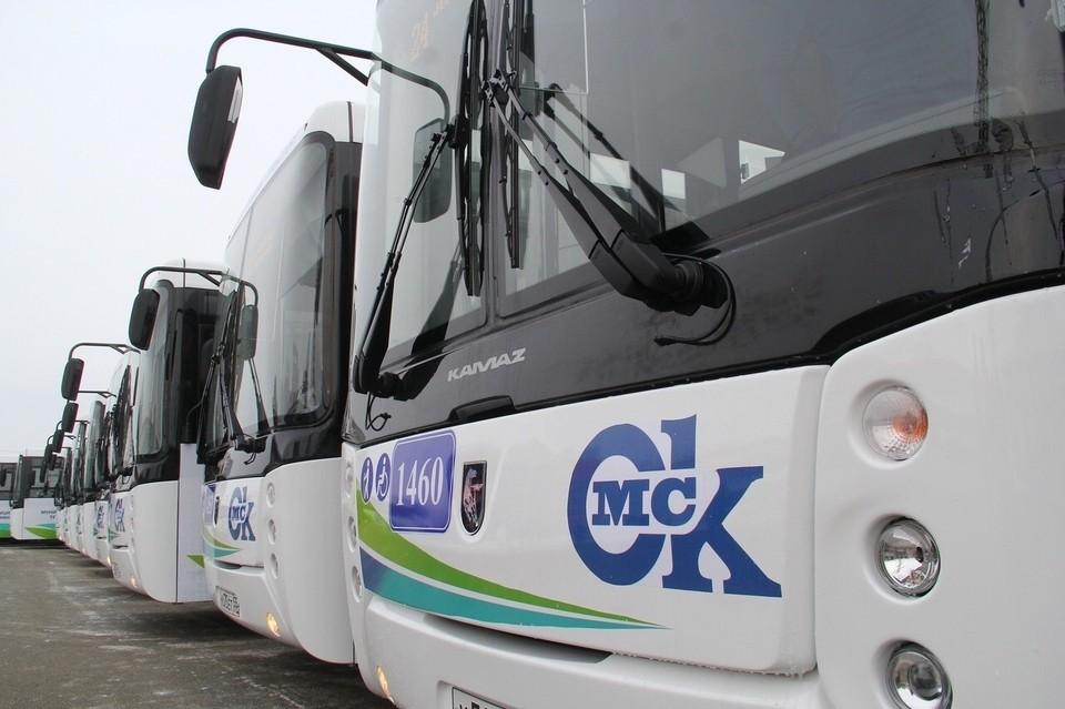 В Омске зимой появятся 48 новых автобусов.
