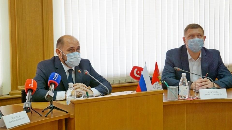 Заседание Вологодской городской Думы прошло 2 сентября