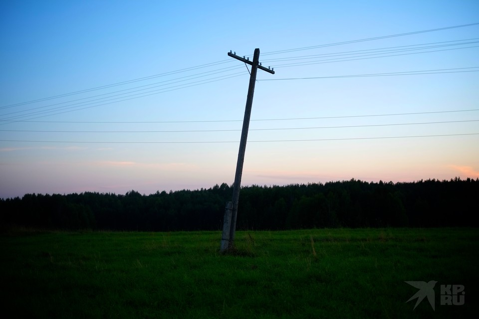 В пяти районах Рязанской области 3 сентября отключат электричество.