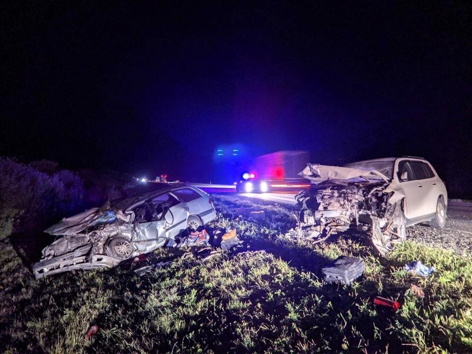 Один из водителей скончался в больнице