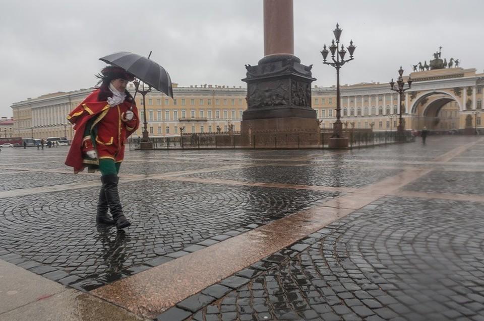 Напрасно считать Петербург самым дождливым.