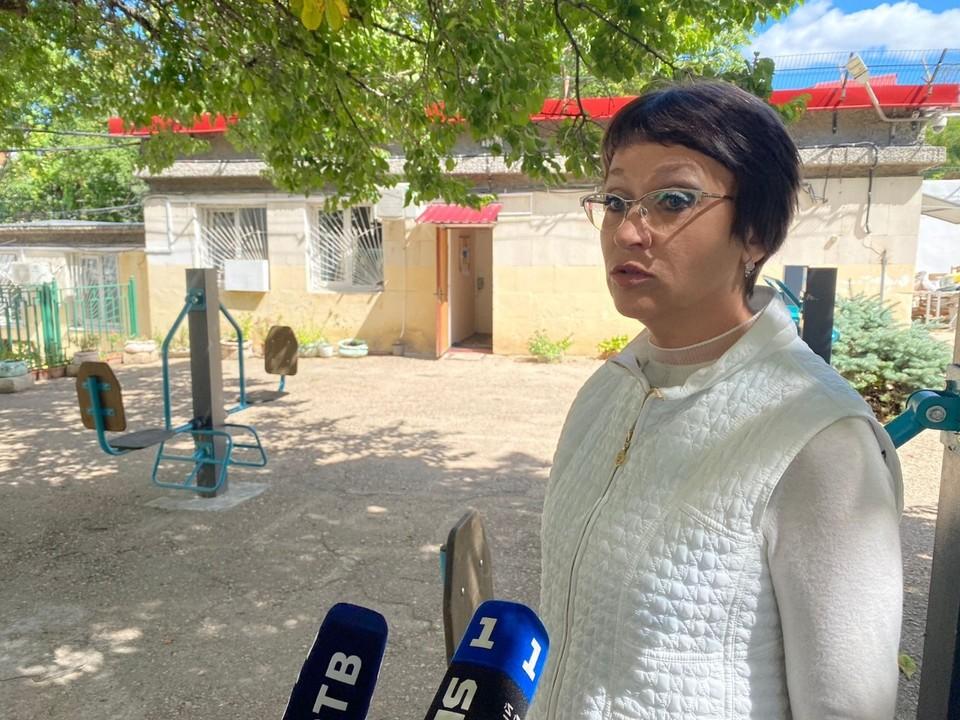 Уполномоченный по правам ребенка в Севастополе Марина Песчанская
