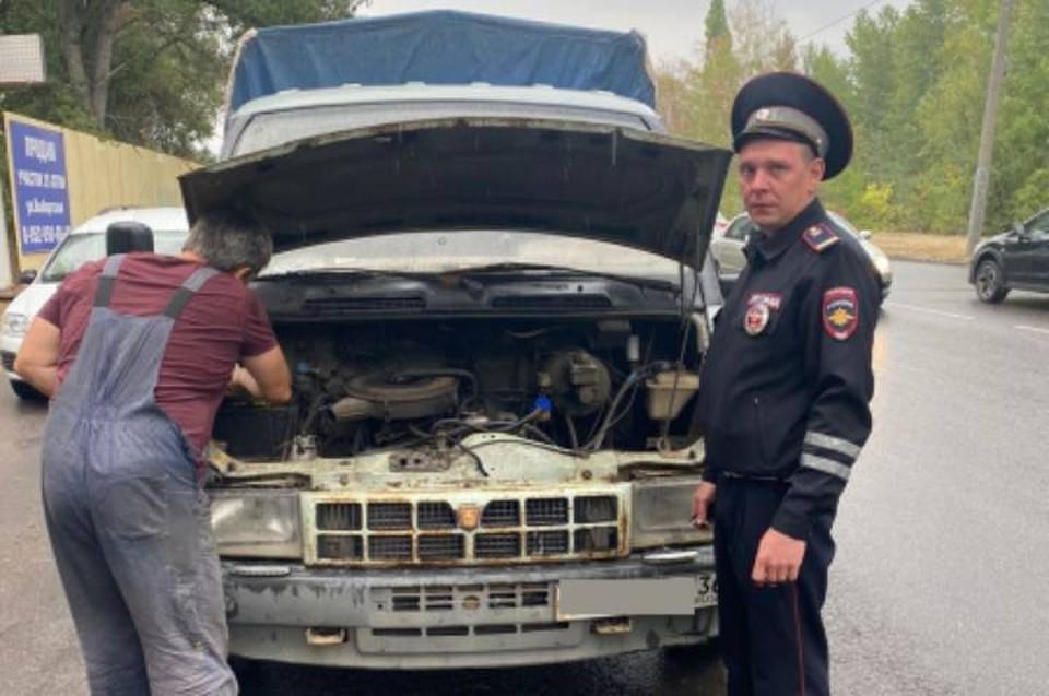 Водитель не пострадал, а вот машине теперь требуется ремонт.