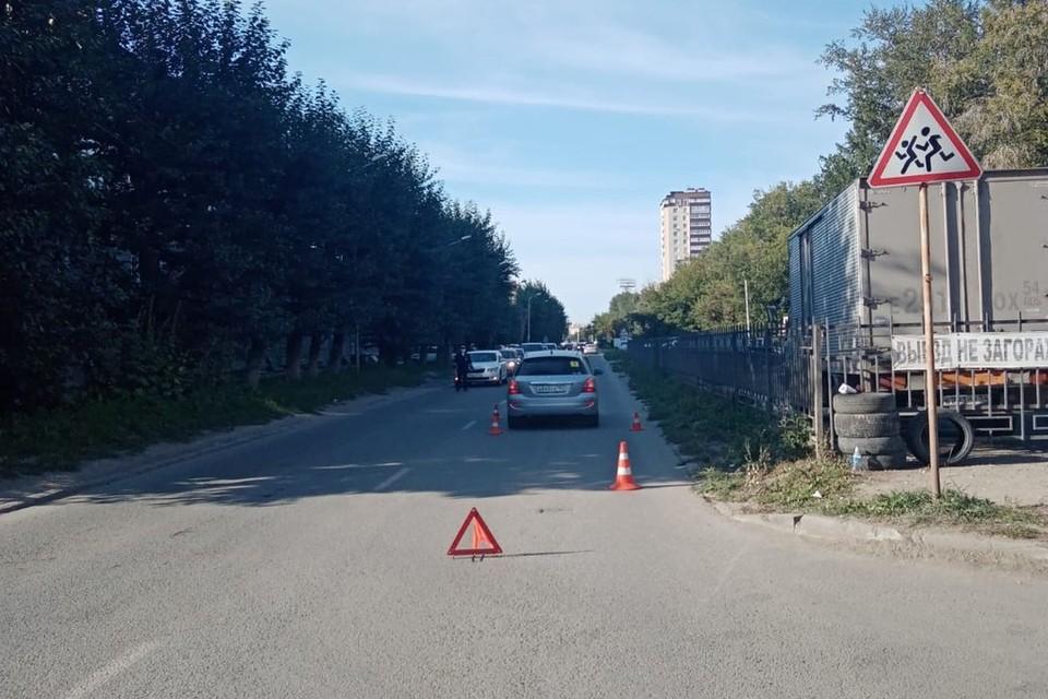 В Новосибирске, вечером, 3 сентября, произошло ДТП, в котором пострадал ребенок. Фото: Госавтоинспекция по Новосибирску
