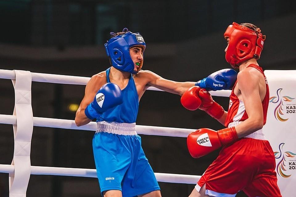 За два дня до официального старта Игр в Казани начались предварительные раунды соревнований по боксу. Фото: Пресс-служба первых Игр стран СНГ