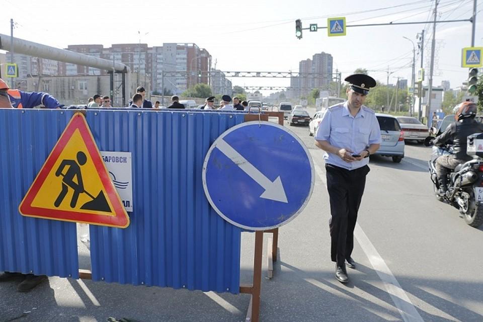 На ремонт улицы Павла Морозова в Хабаровске потребуется 8 месяцев