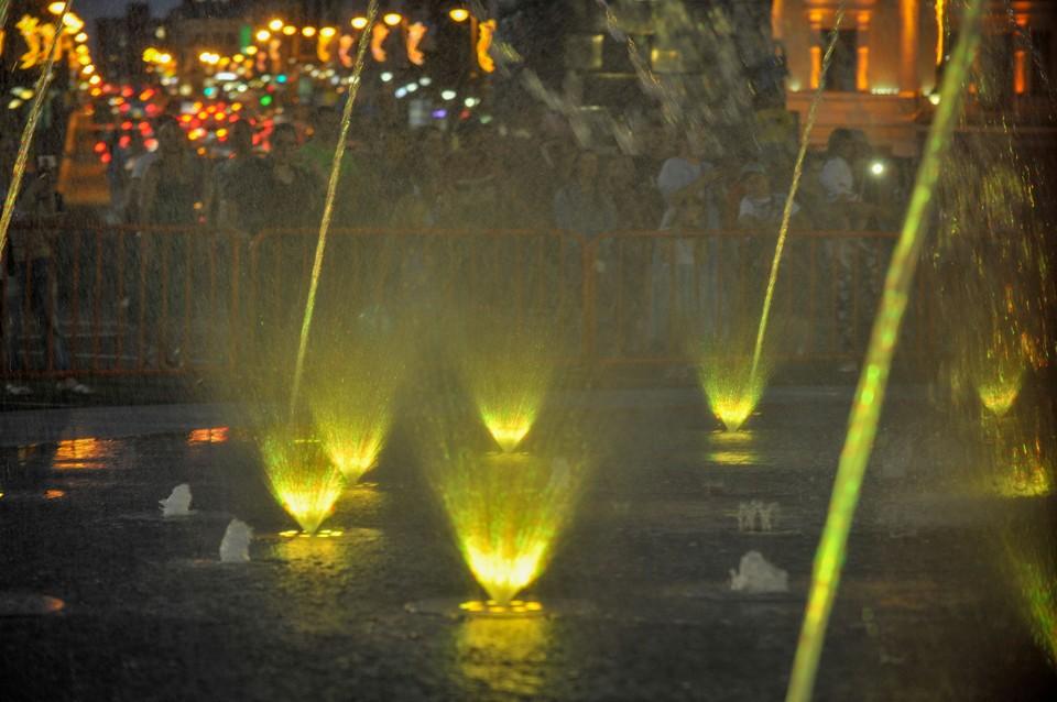 Новый фонтан во Владивостоке