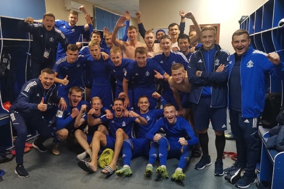 Следующую игру динамовцы проведут на выезде 10 сентября. Фото:vk.com, ФК «Динамо Брянск».