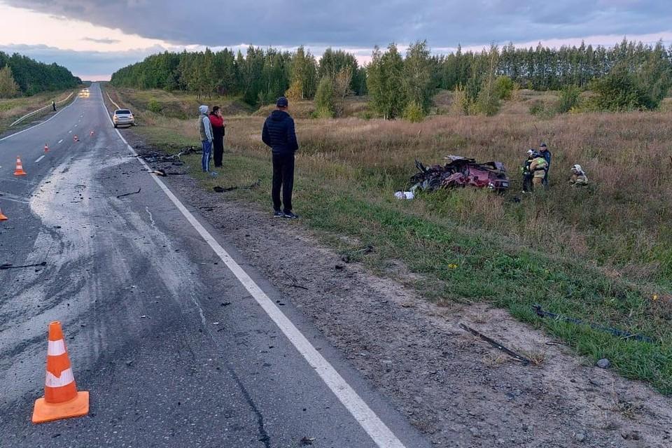 Трагедия под Липецком: в ДТП погибли 4 человека