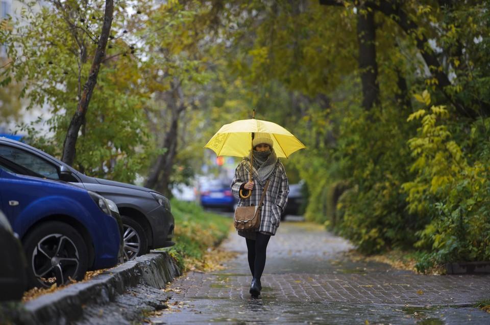 На Омск надвигаются похолодание и дожди.