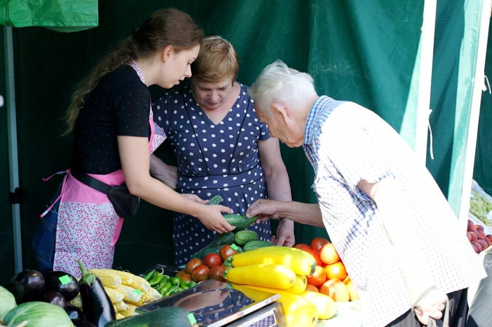Для хабаровских аграриев открылся «Фермерский дворик»