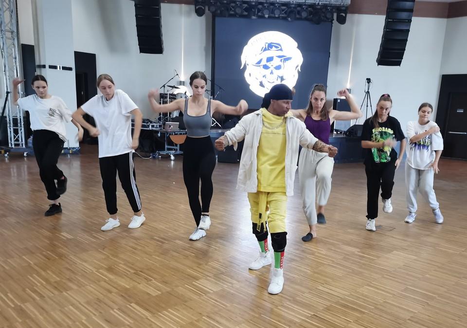 Марио Форелли вскоре планирует открыть в Донецке свою школу-студию, где смогут заниматься все, кто любит танцы