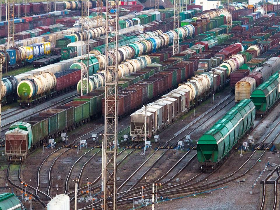 Погрузка на железной дороге в Смоленской области составила 2 млн тонн в январе-августе. Фото: пресс-служба МЖД.