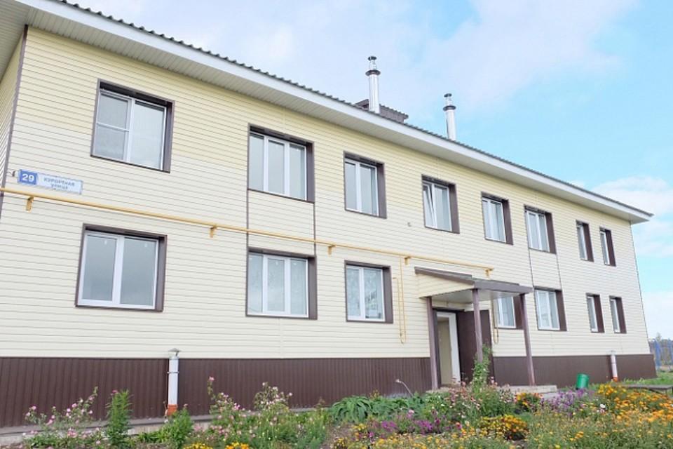 Два многоквартирных дома для переселенцев из аварийного жилья построили в селе Буйское Уржумского района. Фото: kirovreg.ru