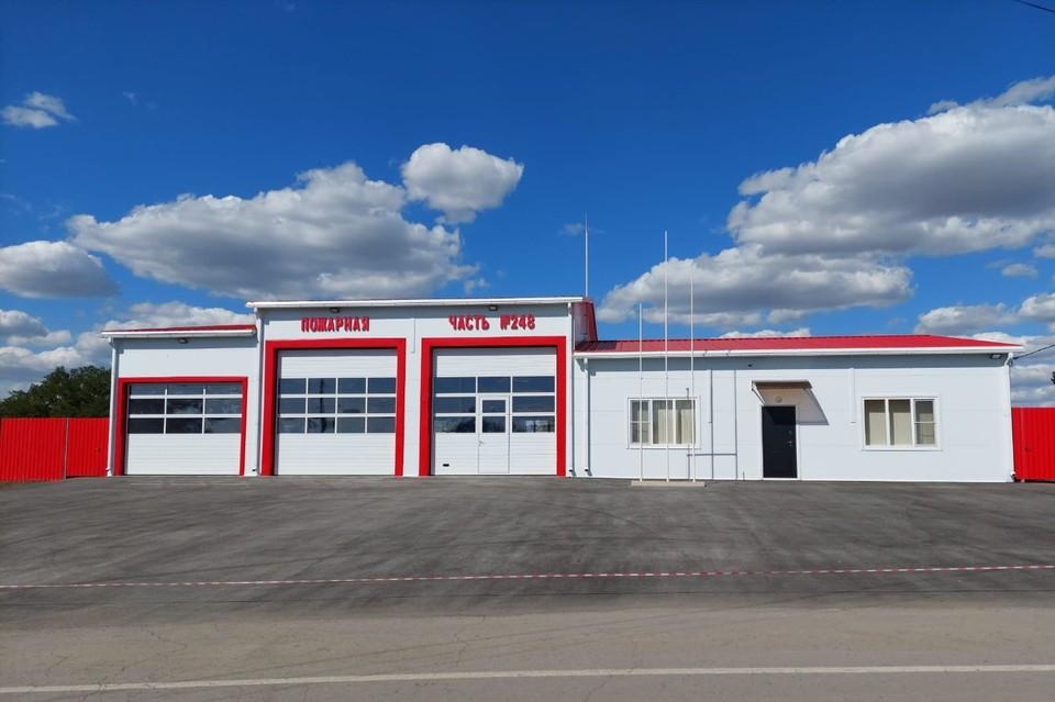 В Ростовской области появилась новая пожарная часть