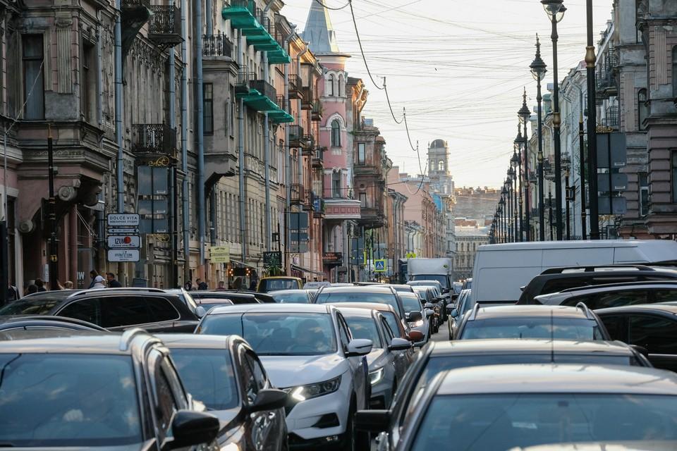 Пробки в Санкт-Петербурге утром 7 сентября 2021 года