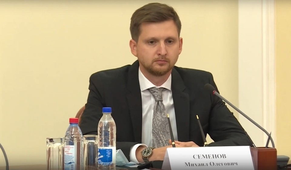 Вышло постановление о назначении Семенова вице-губернатором