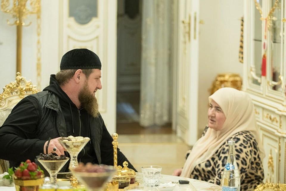 За рисунок членов семьи Кадыровых пообещали солидный приз. Фото: страница Рамзана Кадырова в социальных сетях.