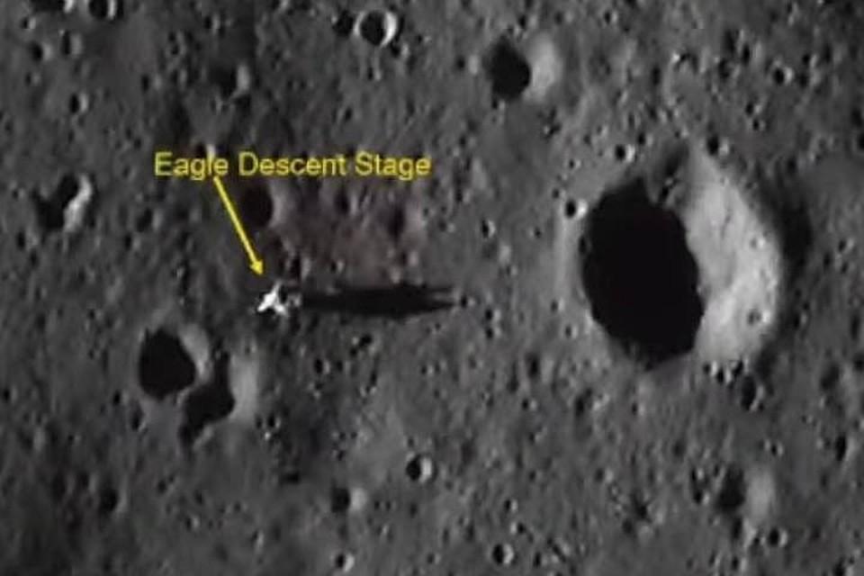 Индийский снимок: Аполлон 11 виден на поверхности Луны