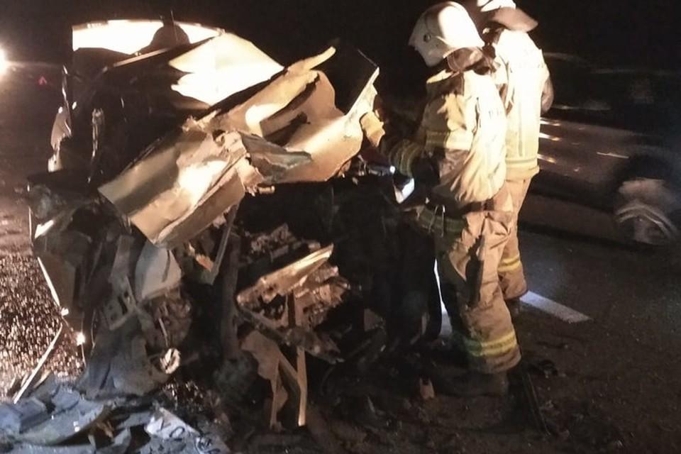 Спасатели уже прибыли на место происшествия. Фото: МЧС СК