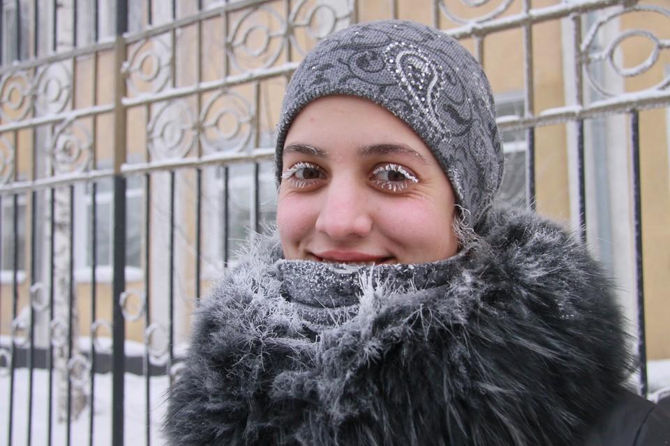 Морозы в Сибири постепенно слабеют.