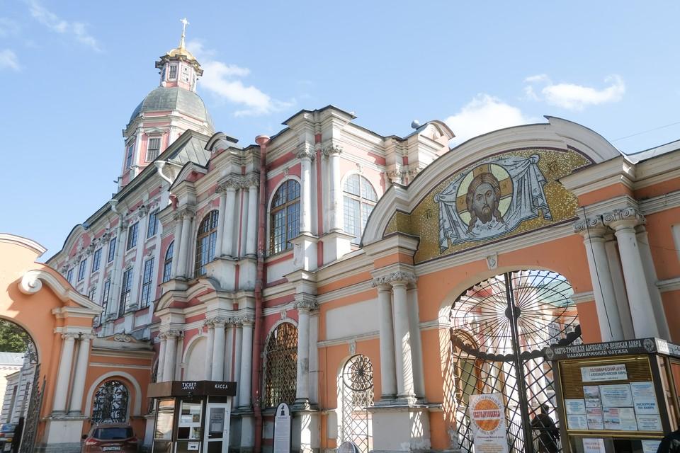 В Александро-Невской Лавре представят большую мозаичную икону святых князей Феодора Новгородского и Александра Невского