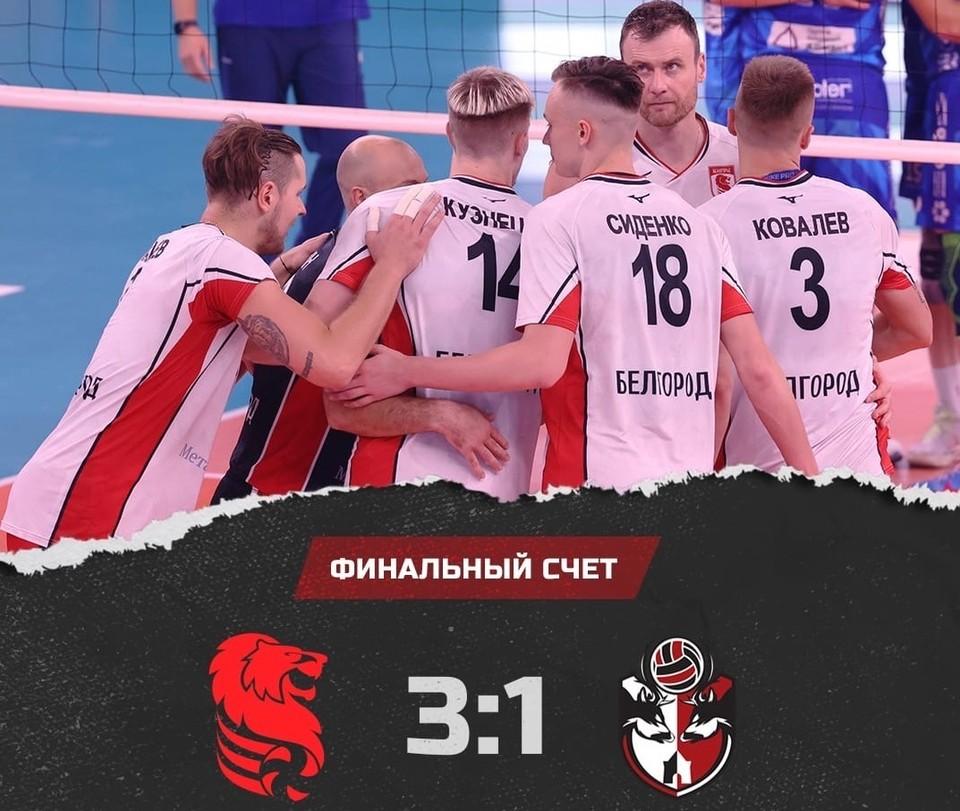 Сегодня в 16:00 «Белогорье» сразится с «Динамо-ЛО» из Соснового Бора. Фото vk.com/belogorievolley.