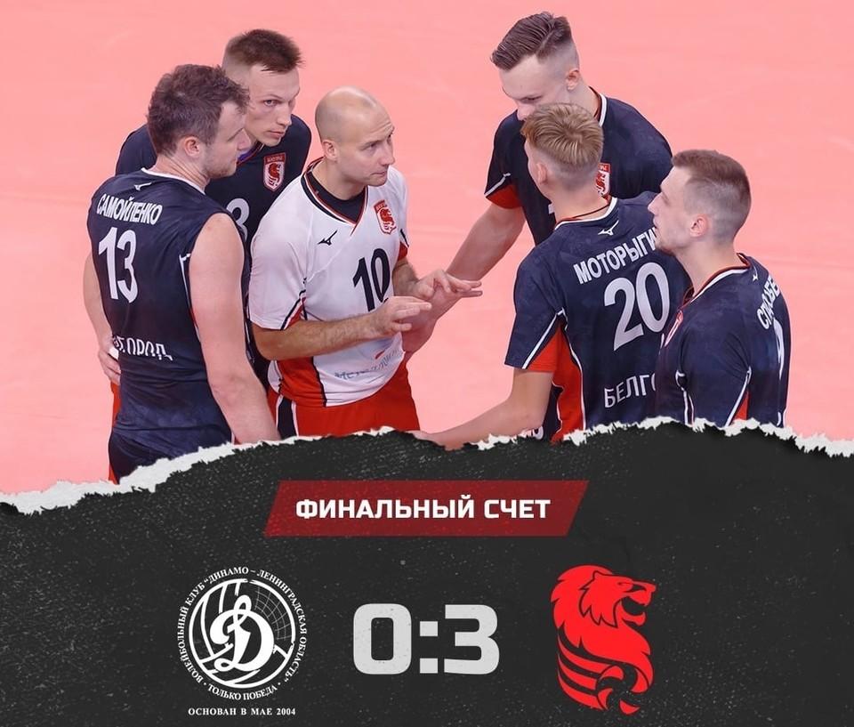 11 сентября белгородцы сыграют с питерским «Зенитом». Начало в 16:00. Фото vk.com/belogorievolley.